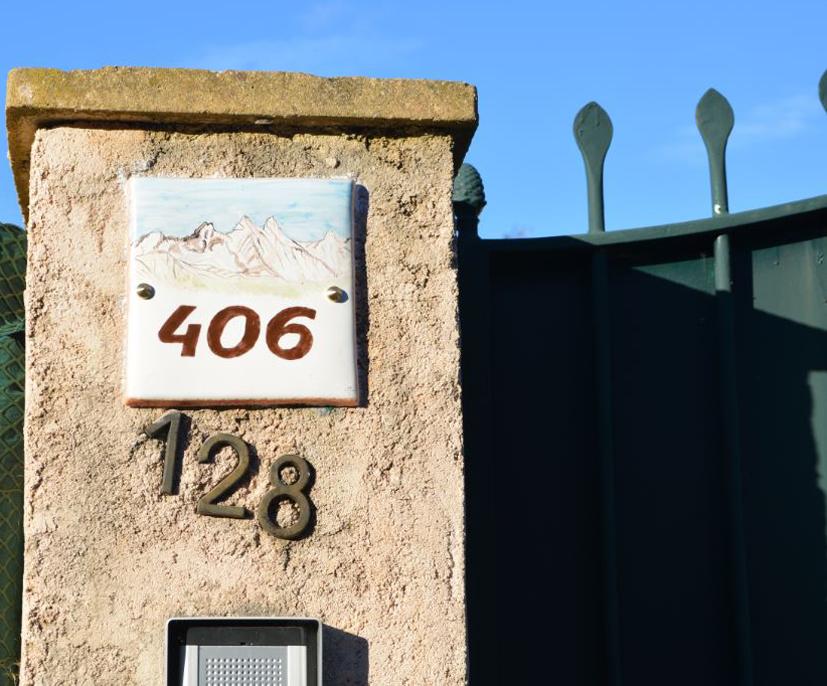 plaques numeros de porte petit vallauris